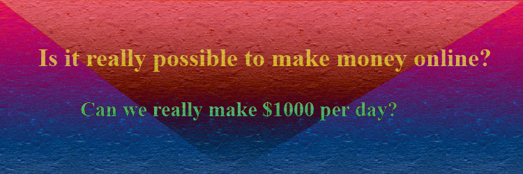 is it really possible to make money online