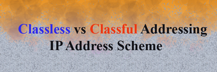 classless addresing vs classful addresing in hindi