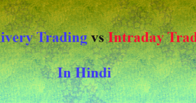 delivery trading vs intraday trading in hindi