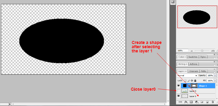 Clipping mask in photoshop in Hindi 2