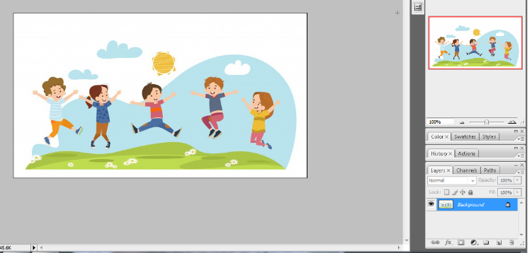 Clipping mask in photoshop in Hindi