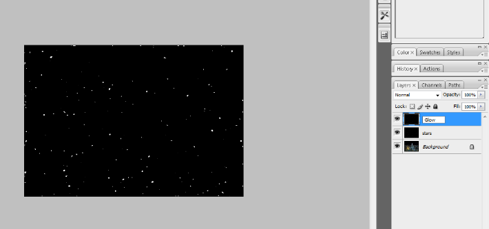 Create A Starry Night Sky In Photoshop 13