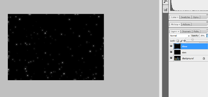 Create A Starry Night Sky In Photoshop 17