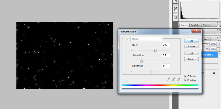 Create A Starry Night Sky In Photoshop 19