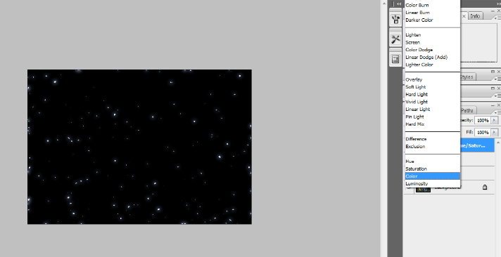 Create A Starry Night Sky In Photoshop 20
