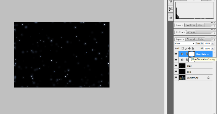 Create A Starry Night Sky In Photoshop 21