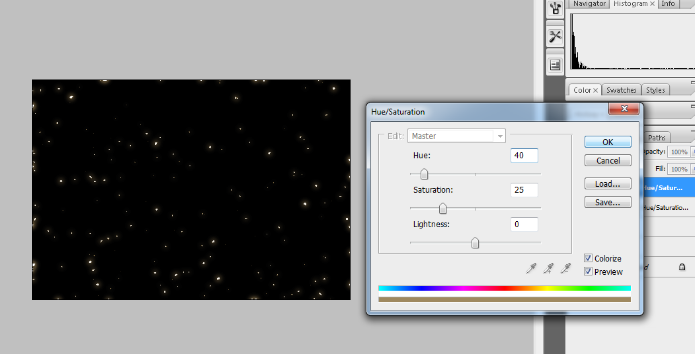 Create A Starry Night Sky In Photoshop 22