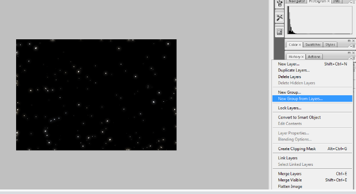 Create A Starry Night Sky In Photoshop 24