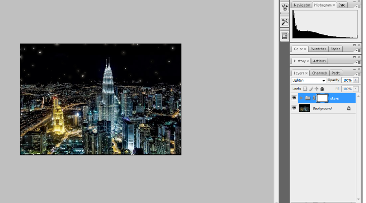 Create A Starry Night Sky In Photoshop 27