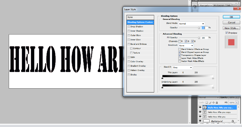 Create Retro 3D Text with Photoshop 3