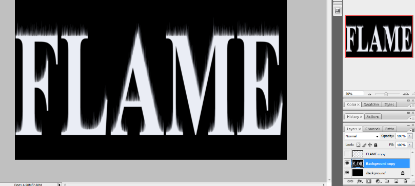 Flaming Hot Fire Text in Photoshop 13