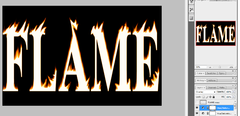 Flaming Hot Fire Text in Photoshop 18