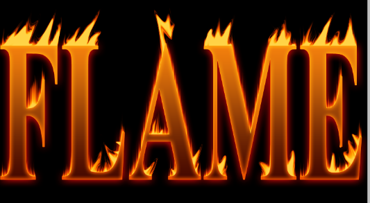 How To Create Flaming Hot Fire Text in Photoshop 333