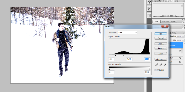 How to Add Falling Snow to Your Photos with Photoshop 15