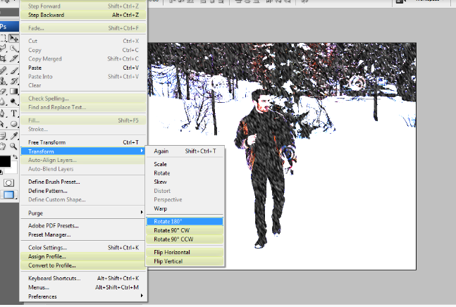How to Add Falling Snow to Your Photos with Photoshop 17