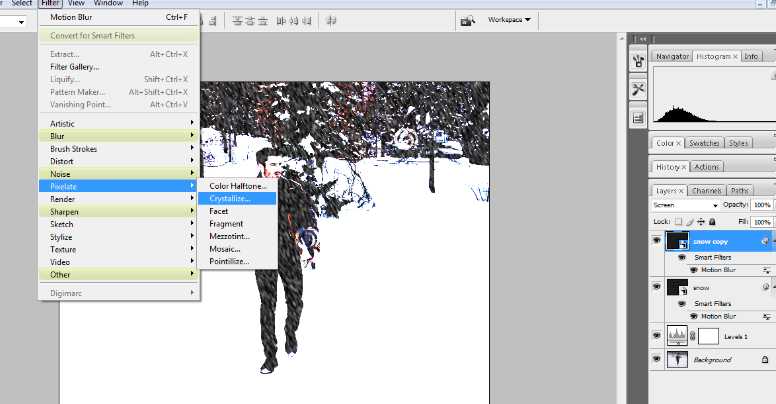 How to Add Falling Snow to Your Photos with Photoshop 18