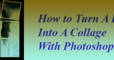 How to Turn A Photo Into A Collage With Photoshop feature