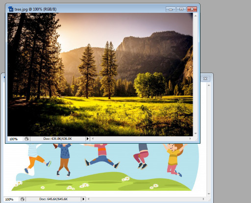 Layer mask in Photoshop in Hindi 1