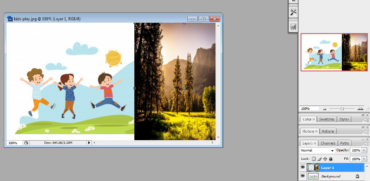 Layer mask in Photoshop in Hindi 2