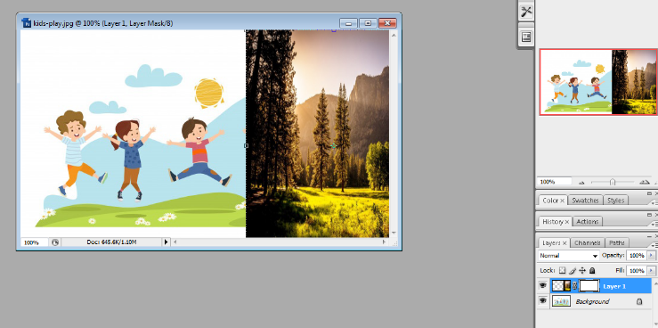 Layer mask in Photoshop in Hindi 3