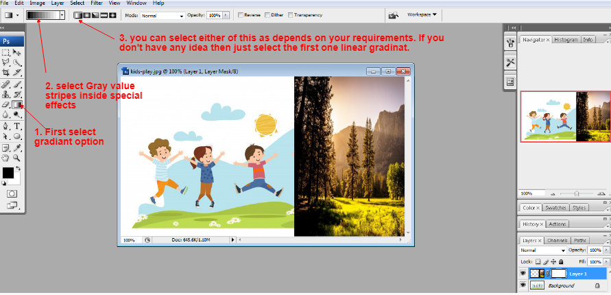 Layer mask in Photoshop in Hindi 4