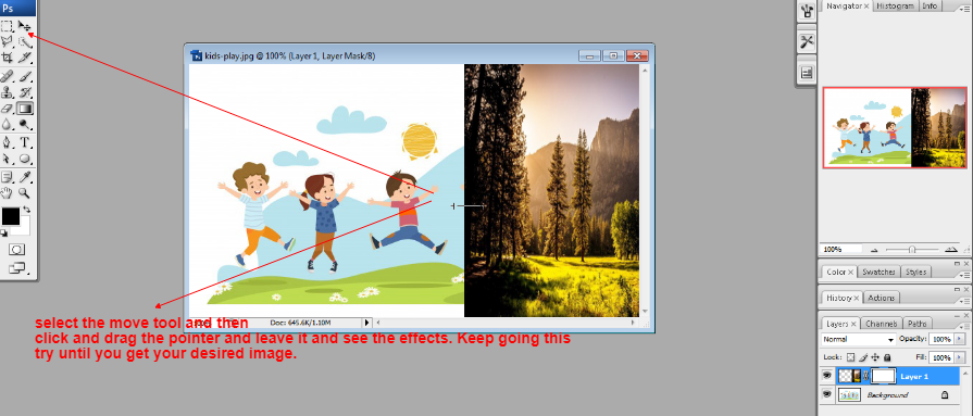 Layer mask in Photoshop in Hindi 5