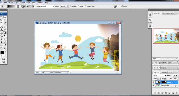 Layer mask in Photoshop in Hindi 7
