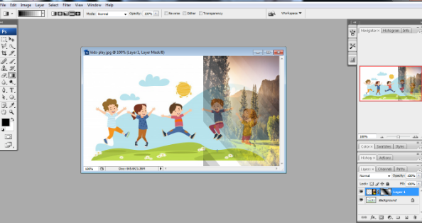 Layer mask in Photoshop in Hindi 8