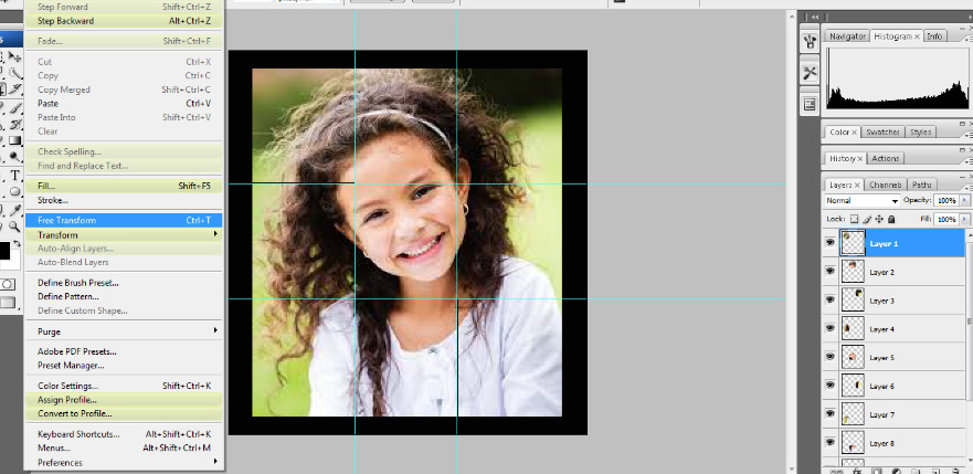 Turn A Photo Into A Collage With Photoshop 11