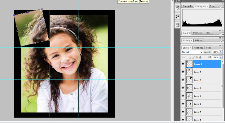 Turn A Photo Into A Collage With Photoshop 12