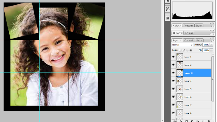 Turn A Photo Into A Collage With Photoshop 13