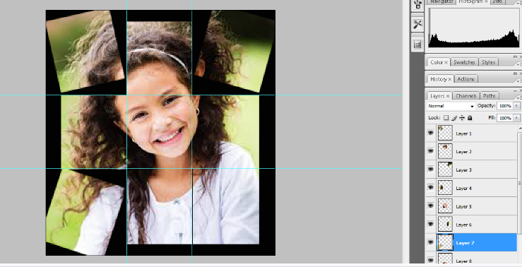 Turn A Photo Into A Collage With Photoshop 14