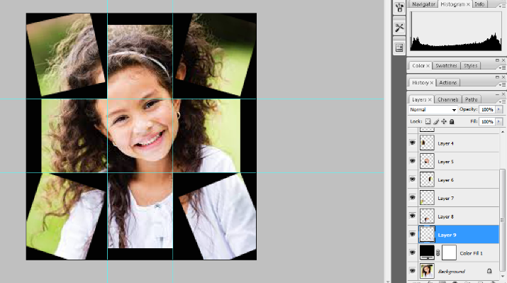 Turn A Photo Into A Collage With Photoshop 15
