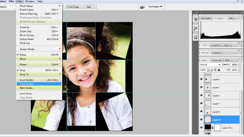 Turn A Photo Into A Collage With Photoshop 16