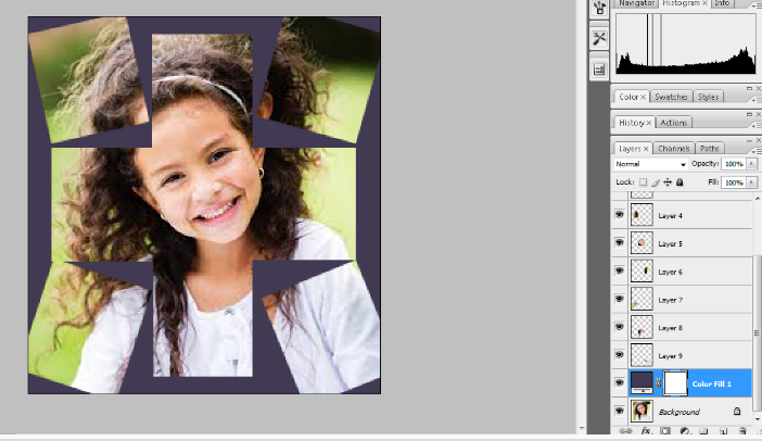 Turn A Photo Into A Collage With Photoshop 17