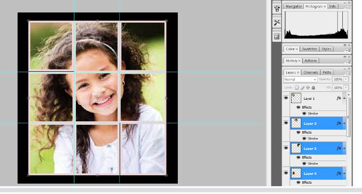 Turn A Photo Into A Collage With Photoshop 20