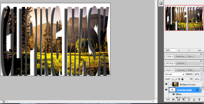 clipping mask in photoshop in hindi 10