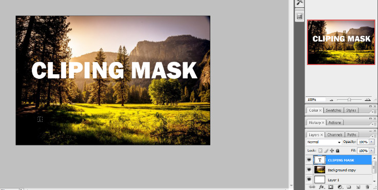 clipping mask in photoshop in hindi 5