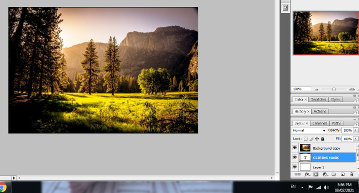 clipping mask in photoshop in hindi 7