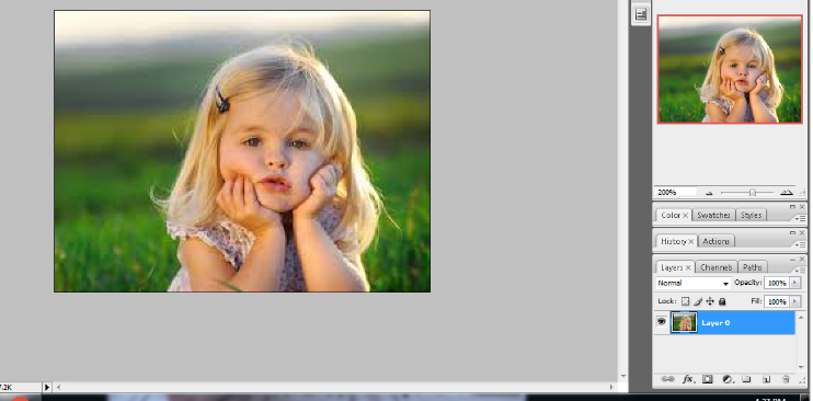 crop the circular image in photoshop 2