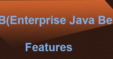 EJB Features-Enterprise java beans features