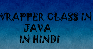 wrapper class in java in hindi