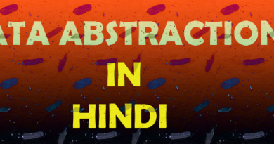 data abstraction in hindi