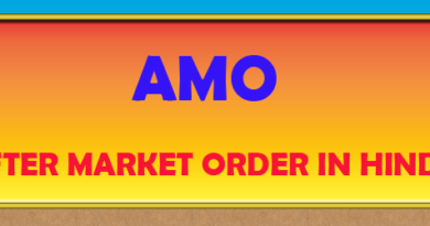 After Market Order In Hindi