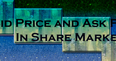 bid price and ask price in share market