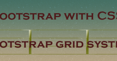 bootstrap grid system in hindi