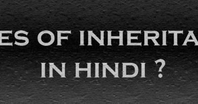 types of inheritance in hindi