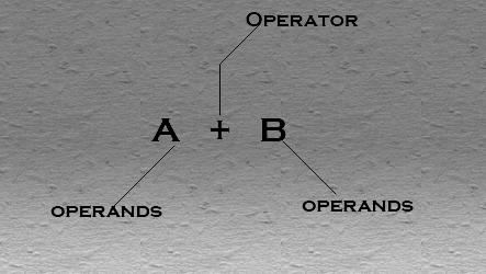 operator and operands