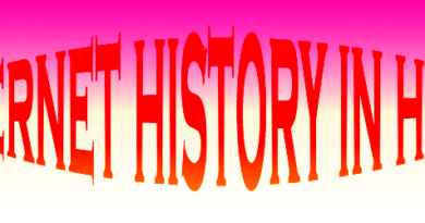 internet history in hindi
